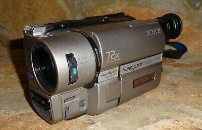Sony Digital Steadyshot Handycam Vision Hi8 8mm Video Camera