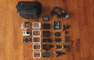 GoPro HERO3 Black Edition with Accessories Oxley Brisbane South West Preview