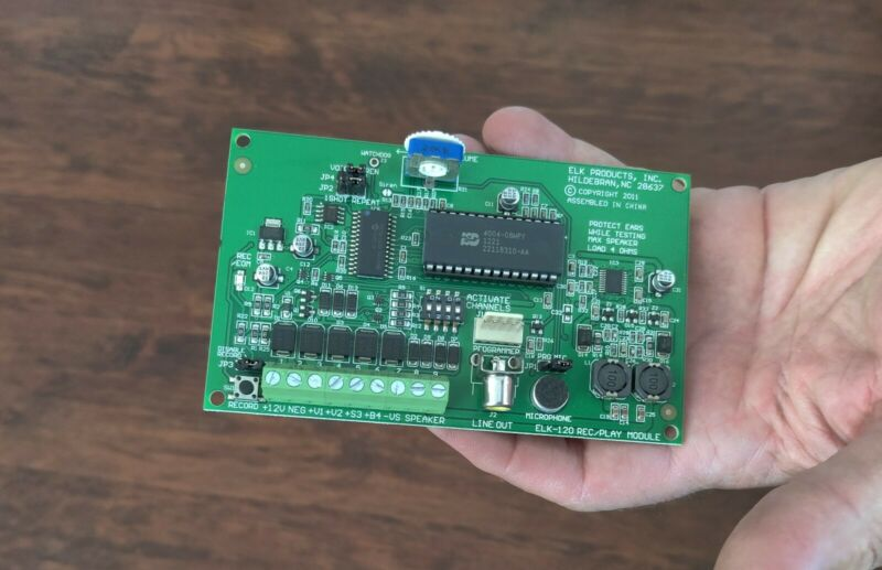 ELK-120 Recordable Voice Module and Siren
