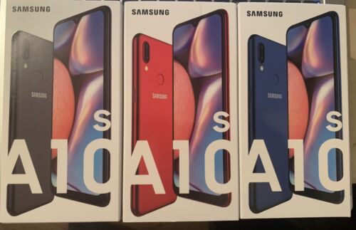 Android Phone - NEW Samsung Galaxy A10S 32GB Dual SIM 4G LTE Android phone COLOURS
