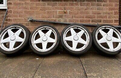 Azev A 17 inch Alloy wheels 100/4 ET30 7 1/2Jx17H2 VW Golf/ Audi / Porsche