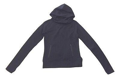 So Juniors Size XSmall Black Hoodie Zipper Pockets Pull Over Sweatshirt Hoodie Juniors Zipper Hoodie