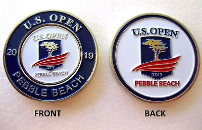 "2019 US OPEN @ PEBBLE BEACH CC, Traditional, 1-1/2"" MondoMark & BALL MARKER"
