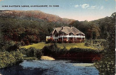 Ireland postcard Glengarriff Lord Bantry's Lodge Co. Cork