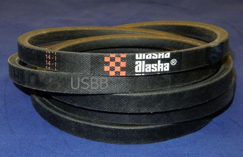 """A144 V Belt, 4L1460, A144 Belt (1/2 x 146"""" OD 144 ID) (AK BK) (5G10)"""