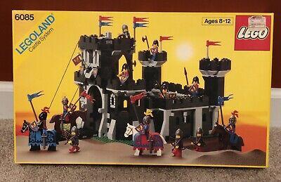 LEGO 5 Lot 6085 CASTLE, 6074, 6062, 6034 100% COMPLETE w/ Box Instructions 6021