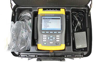Fluke 434 Power Quality Analyzer Pqa With I400s Current Clamps