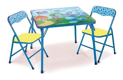 Nickelodeon Blues Clues Folding Children's Table & Chair Set–Includes 2 Kid