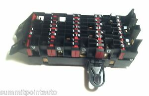 1994 99 mercedes s320 s420 s500 w140 rear trunk fuse box ebay