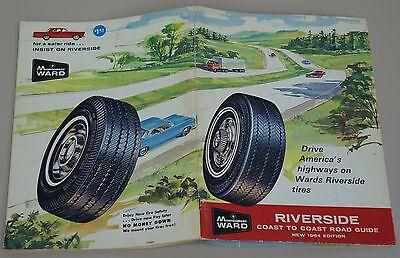 MONTGOMERY WARD COAST TO COAST ROAD GUIDE 1964 EDITION U.S. CANADA MEXICO