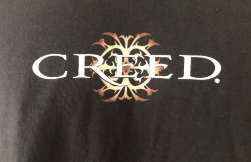 vintage Creed band black T-shirt XXL-deadstock