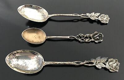 Sweet Dutch 835 or 925 Silver Spoon