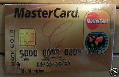 Cash To Credit Card Illusion Close Up Street Magic Trick