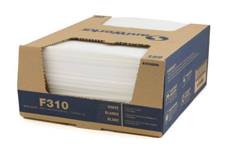 SaniWorks Deluxe Antimicrobial Towels NF310QCWA