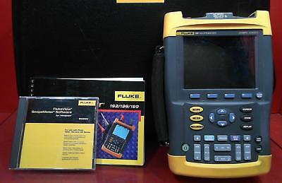 Fluke 199 Scopemeter 200mhz 2.5gss Dm8070327