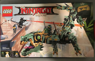 LEGO Ninjago Green Ninja Mech Dragon 70612 544 Pieces Building Toy
