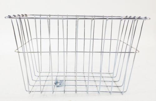"Wald Bicycle Grocery Basket 585 Rear Rack-Top 14 x 9 x 9"""