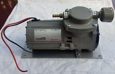 Thomas Diaphragm Vacuumsuction Pump 107cdc20 12v 9.7a ... Works Great
