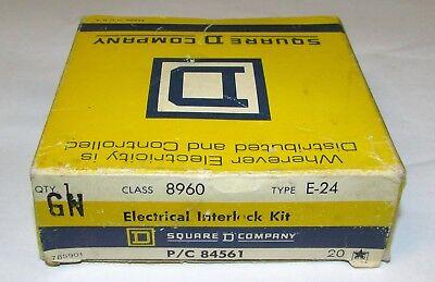 Square D 8960 E-24 Dc Contactor Electrical Interlock Kit 8960 E24 9007 A0-2