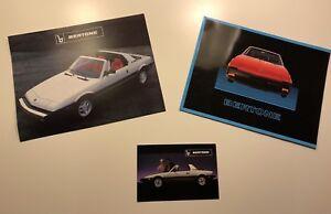 NOS Fiat Bertone X1/9 Factory Brochure Literature Lot
