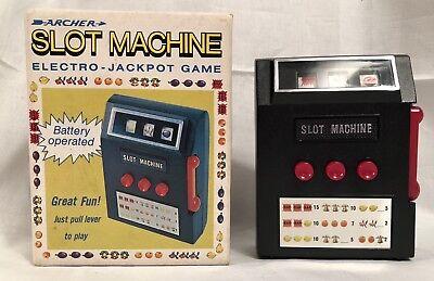 1971 Archer Slot Machine Electro-Jack Pot Game from Radio Shack