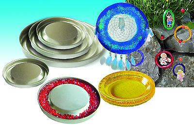 Schmelzgranulat 4x Mobile Form Colouraplast Untersetzer Metall Basteln Kinder M