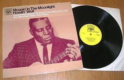 HOWLIN' WOLF – MOANIN' IN THE MOONLIGHT LP
