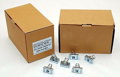 100 Strut Channel Nuts 38-16 Short Spring Zinc Plated Unistrut Nut