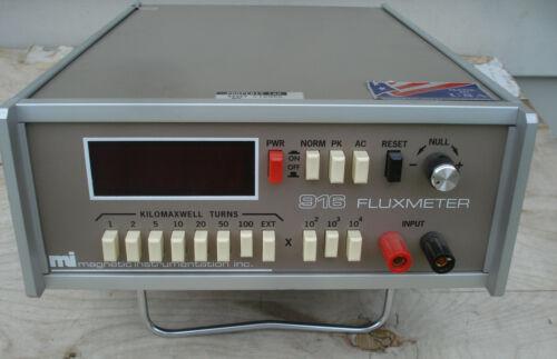 916 FLUXMETER - MAGNETIC INSTRUMENTATION INC Flux Meter MI - Free Ship