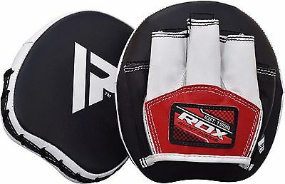 RDX Smartie Focus Pads Hook and Jab MMA Boxing Kick Thai Gloves Muay Curved Mitt