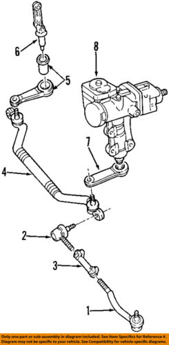 Cadillac GM OEM 97-01 Catera Steering Gear-Idler Arm