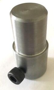 Fly press Punch tool holder 9/16 bore toolmaker made Sheet metal lathe engineer