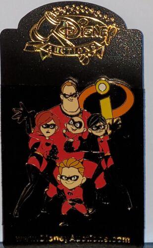 Disney Auctions The Incredibles Parr Family LE 100 Pin Violet Dash Jack Jack