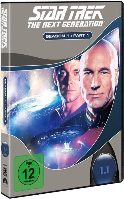 STAR TREK: THE NEXT GENERATION, Season 1.1 (3 DVDs) NEU+OVP