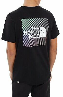 The North Face Short Sleeve RNBW T-Shirt In Black