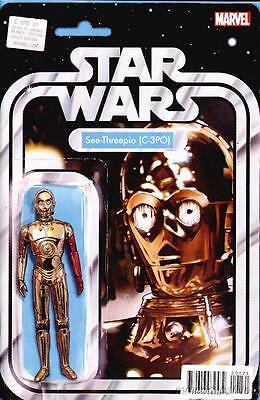 C-3PO #1 Action Figure Variant Star Wars Marvel 2016