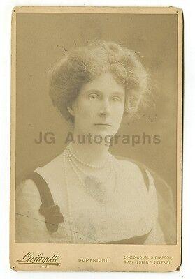 19th Century Fashion - 1800s Cabinet Card Photograph - Lafayette of London