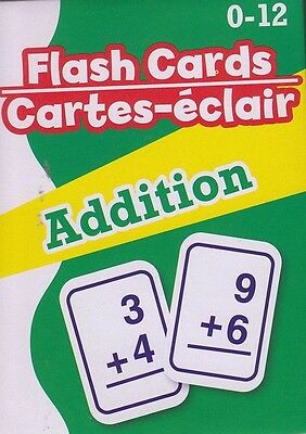 NEW Math Flash Cards (52 cards) ~ Addition   FREE SHIPPING