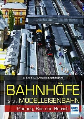 Fachbuch Bahnhöfe für die Modelleisenbahn, tolles Buch mit vielen Bildern, OVP
