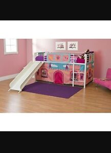 Loft Bed Castle Curtain