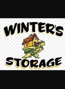Travel trailer/motorhome/ect winter storage
