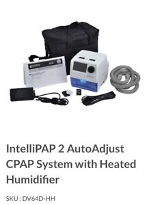 Intellipap 2 autoadjust Cpap system with heated humidifier