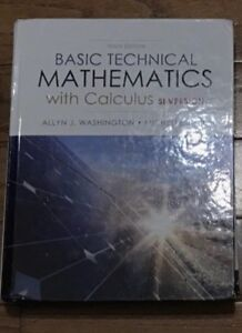 Basic technical mathematics with calculus kijiji in ontario buy basic technical mathematics with calculus si version fandeluxe Gallery