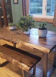 Custom Made to Order Live Edge home decor and furniture