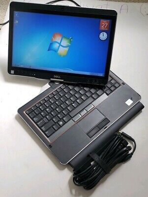 Dell Latitude XT3 Tablet Core i5-2530M 4GB RAM 120GB SSD WEBCAM Touchscreen  for sale  Shipping to Nigeria