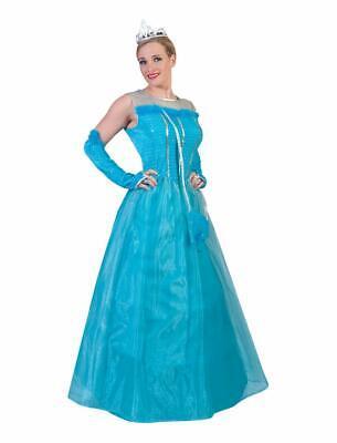 Prinzessin Blue Kostüm Damen Märchenkleid Erwachsene Karneval Damenkostüm - Damen Märchen Kostüme