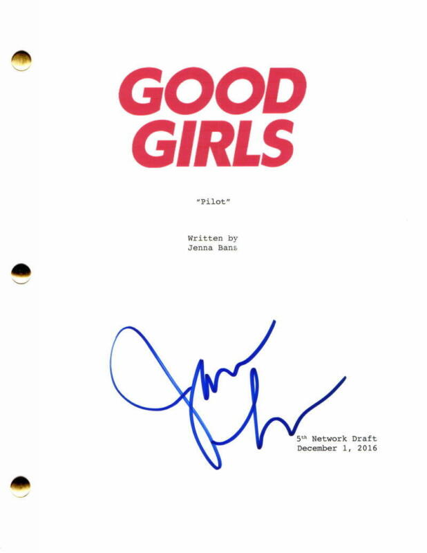 JAMES LESURE SIGNED AUTOGRAPH GOOD GIRLS FULL PILOT SCRIPT - LAS VEGAS STUD