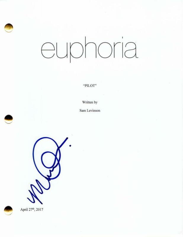 MAUDE APATOW SIGNED AUTOGRAPH - EUPHORIA FULL PILOT SCRIPT- ZENDAYA, LEXI HOWARD