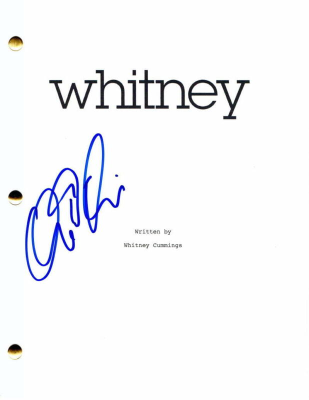 CHRIS D'ELIA SIGNED AUTOGRAPH WHITNEY FULL PILOT SCRIPT - THE GOOD DOCTOR, YOU