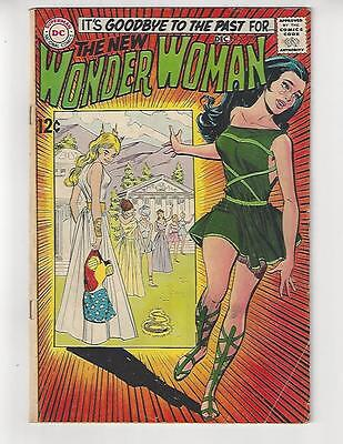 Wonder Woman #179/1st I-Ching/Classic Cover/VG-FN